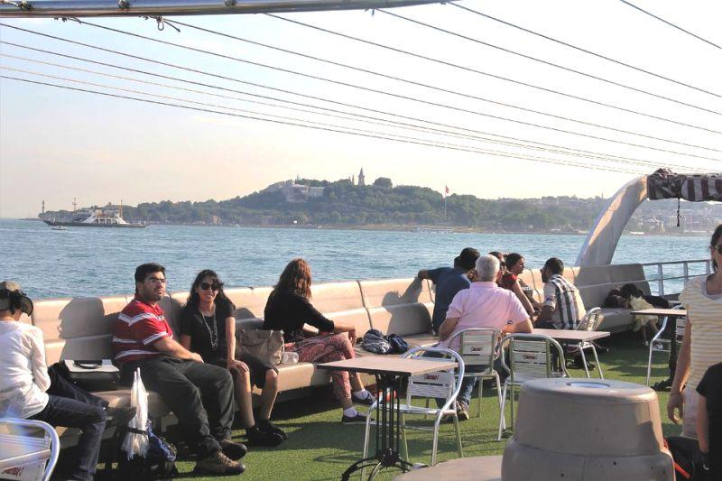Tekne ile İstanbul Boğaz Turu