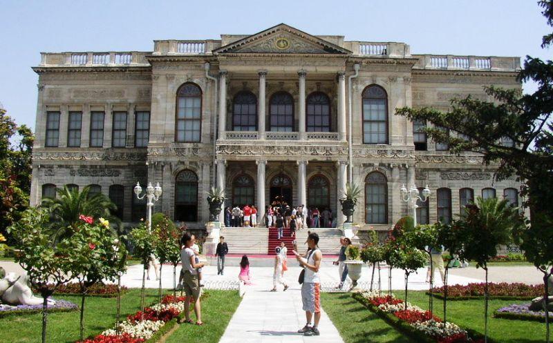 Dolmabahçe Sarayı, Beşiktaş