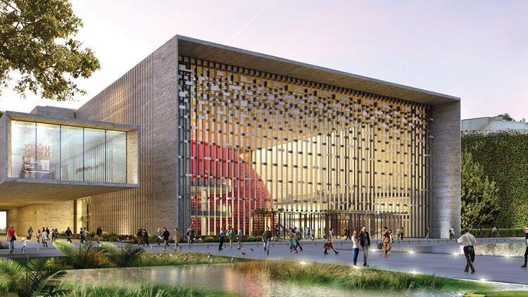 Atatürk Kültür Merkezi (Yeni AKM), Taksim (2021'de açılacak)