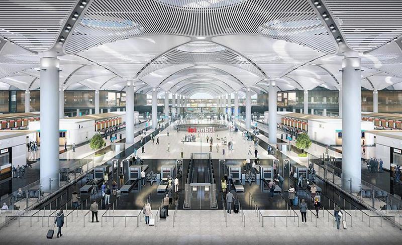 İstanbul Yeni Havalimanı (IST) (Nerede? Nasıl Gidilir? Hizmetler)